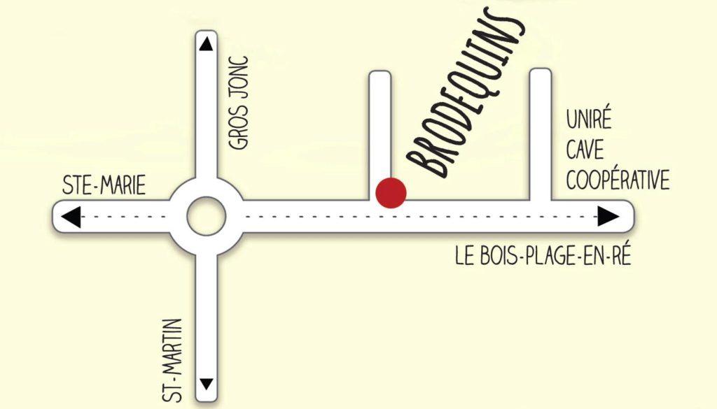 Plan Brodequins Ile-de-Ré